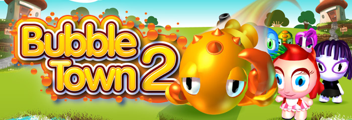 Game Bubble Town 2