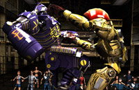 Screenshot do game Real Steel HD