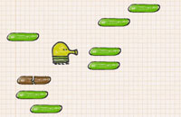Screenshot do game Doodle Jump