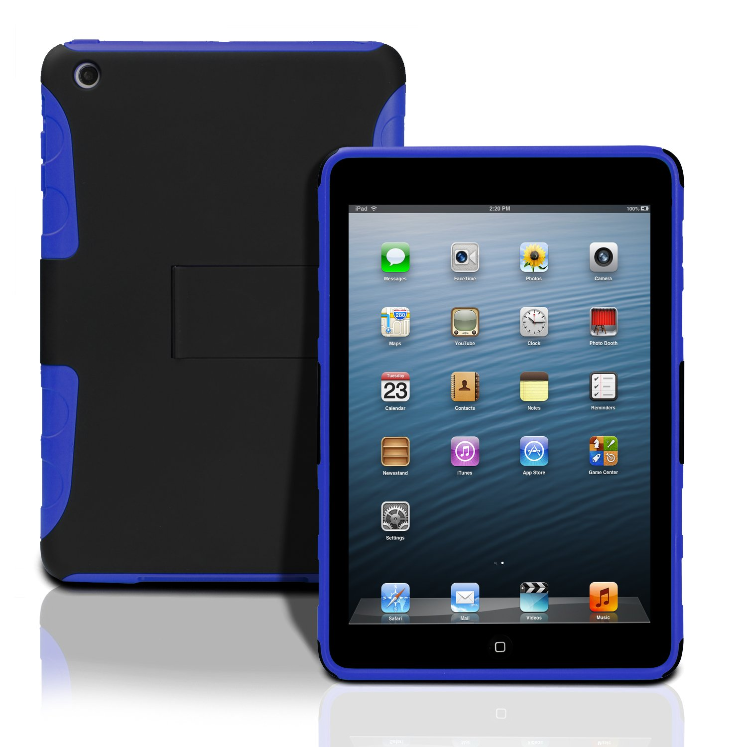 Goat kids iPad mini case Accessorize, protect, and turn your iPad into a classic hardcover! Custom made with premium book cloth and finished with glossy laminate, this hard cover case is a durable and elegant way to show off your favorite designs.