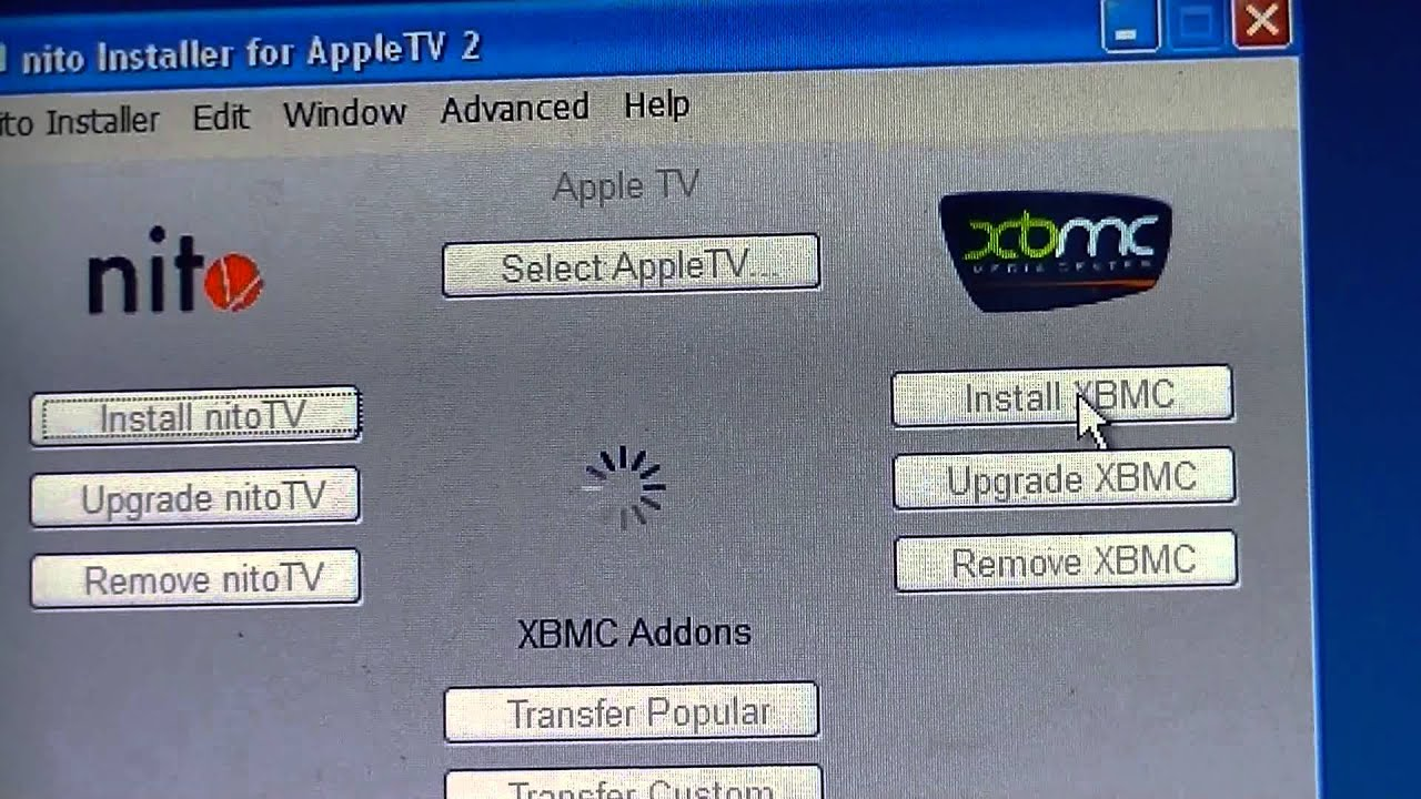how to add xbmc to apple tv 2