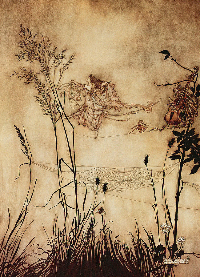 Arthur Rackham Peter Pan Illustrations