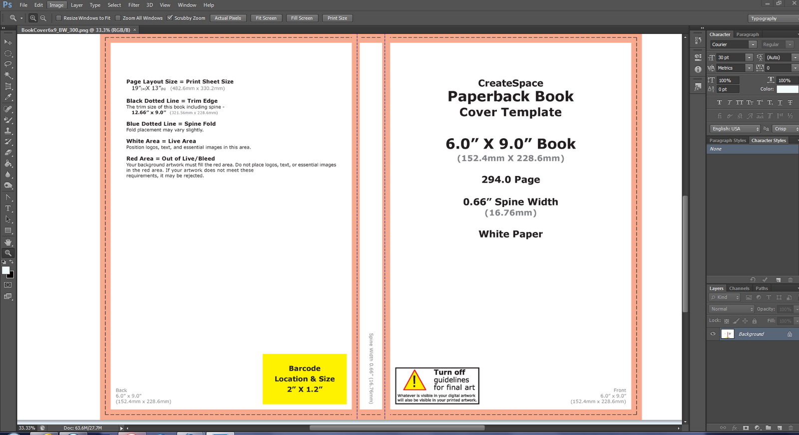 Free School Book Cover Templates : Book cover template free