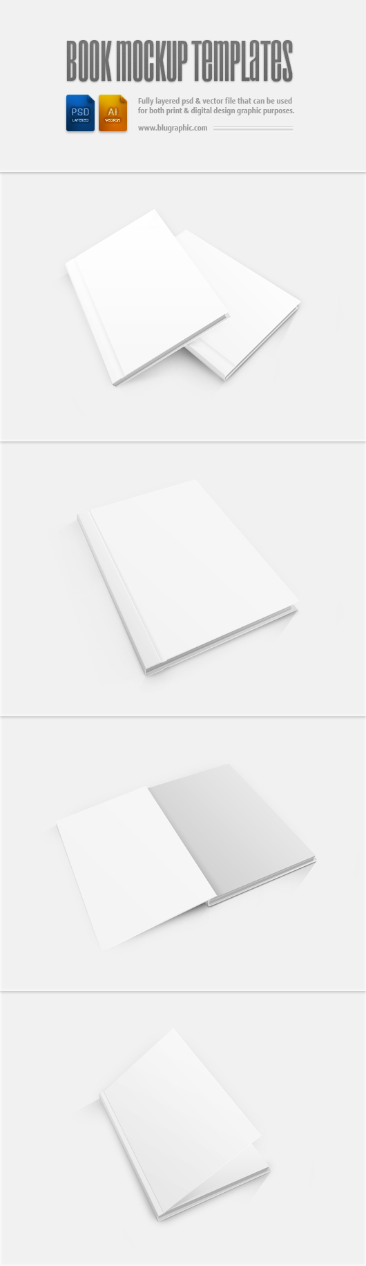 Book Cover Template Free Download ~ Book cover template free download