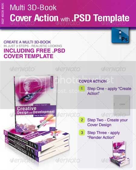 Book Cover Template Psd Download