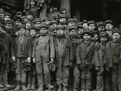 Child Labor Industrial Revolution England