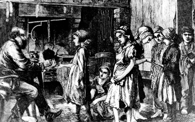 child labor during the industrial revolution thesis