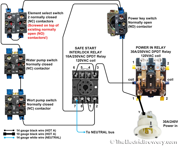 Electrical Contactor Wiring Diagram on ge motor wiring diagram