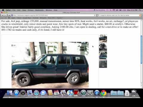 Craigslist Used Cars For Sale By Owner