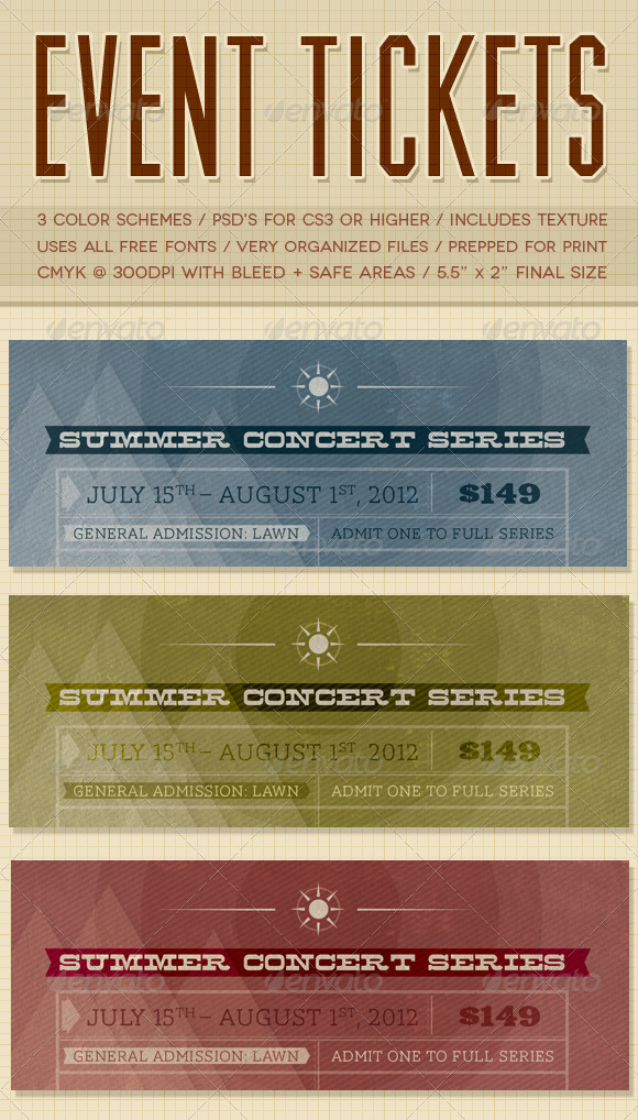 entry tickets template - free admission ticket template