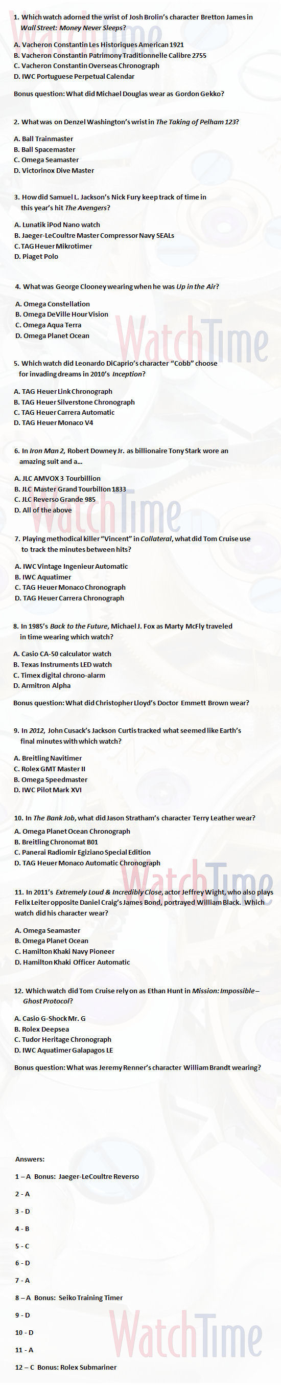 Free Picture Quiz Questions And Answers 2012