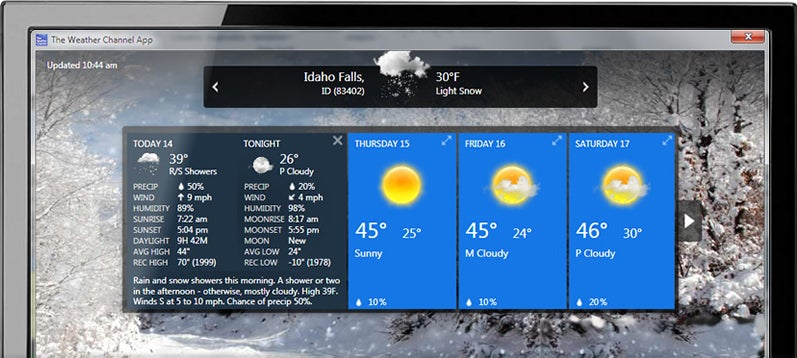gadgets for windows 7 download free for weather