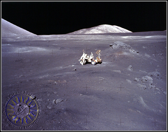 Glass Structures On The Moon