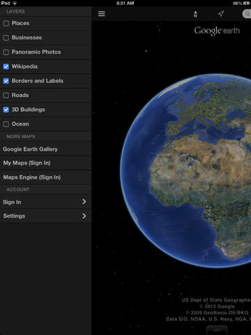 Google Earth Update 2011 free download