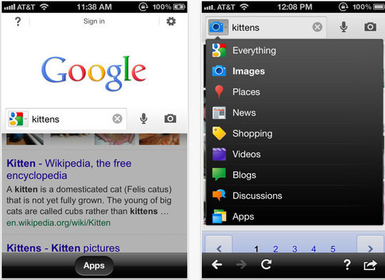 Google Images Advanced Search Iphone