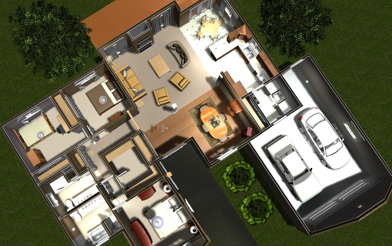 Home design 3d software free House plan making software free download