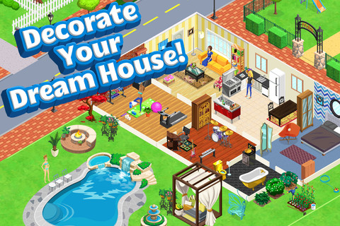 Make your own dream house app home design for Create your own house app