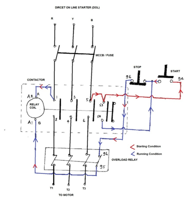 wiring diagram of automatic star delta starter with Auxiliary Contactor Wiring Diagram on Motor Space Heater Wiring Diagram moreover Star Delta Starter Diagram With Control Wiring as well Cvr Starter Motor Wiring Diagram as well Single Switch Wiring Diagram together with Motor Starting Schemes.