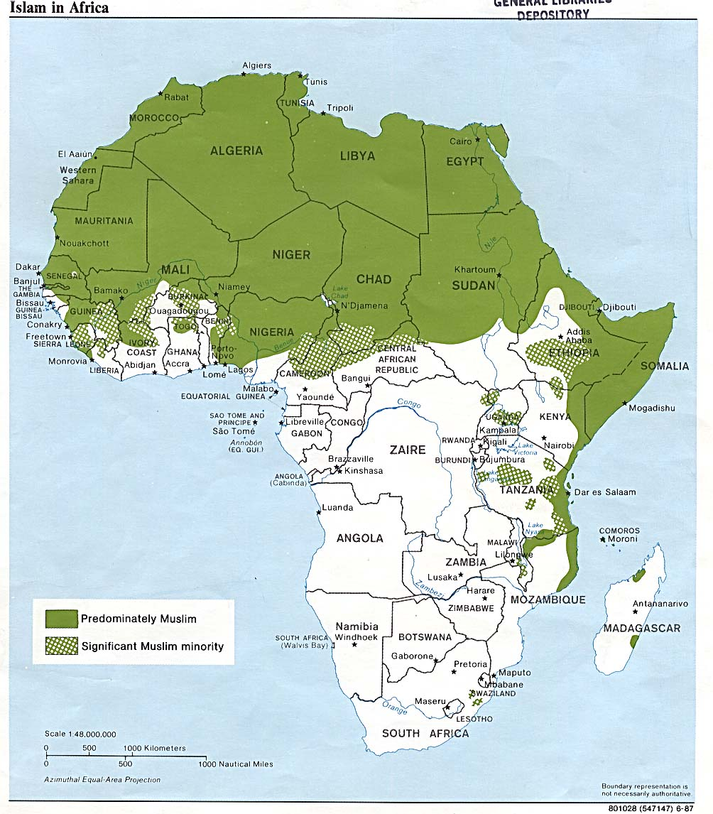 Fill In Map Of Africa 38