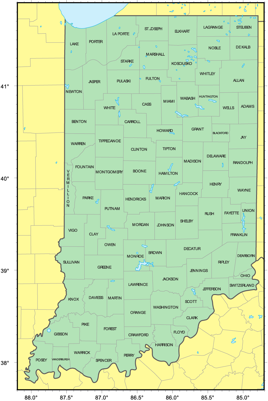 indiana county Below are links to the county office sites auditors 911 ema (external site.