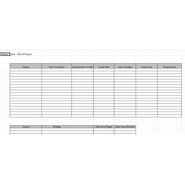 Project Quarterly Report Templates