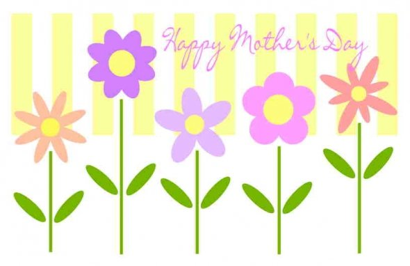 Custom Card Template » Free Printable Mothers Day Card Templates