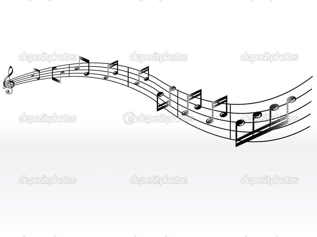 Black And White Music Notes Background Music Notes Background...