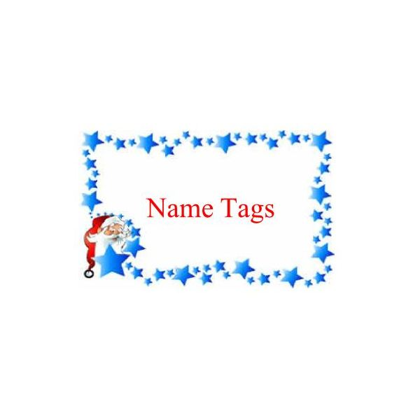 name tag design ideas