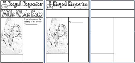 how to write a newspaper article for kids template