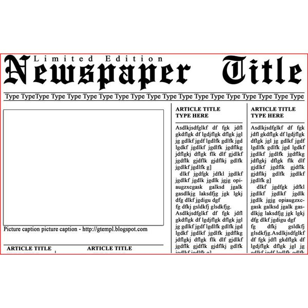 newspaper layout terms A newspaper has its own terminology learn the popular terms used to describe the different elements of a newspaper.