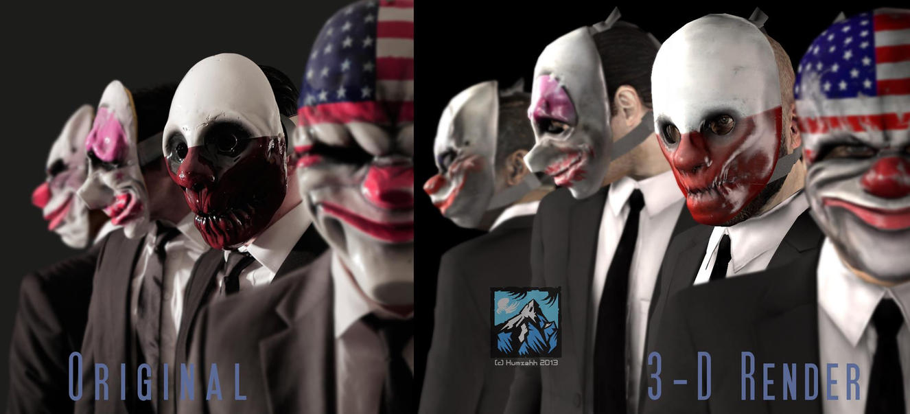 Payday Loans Houston >> Payday 2 Characters Unmasked