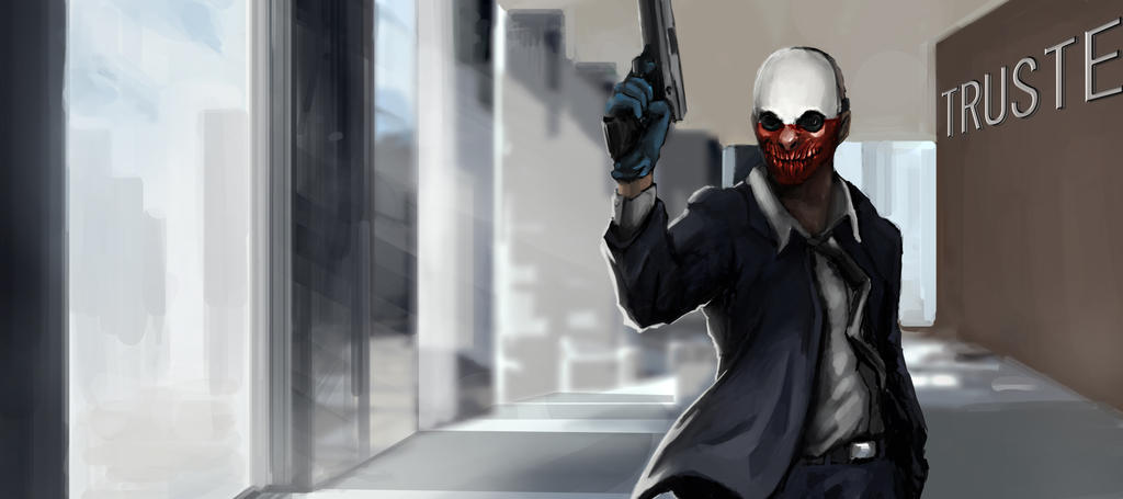 Payday 2 Wolf Wallpape...