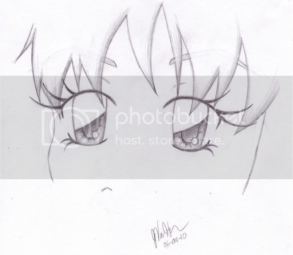 Simple Pencil Sketches Of Eyes