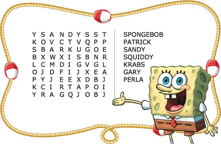 Spongebob Characters Names And Pictures