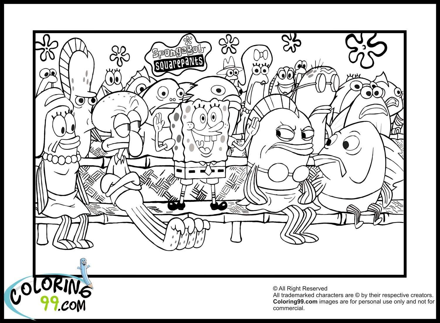 These Images Will Help You Understand The Words Spongebob House Coloring Pages In Detail All Found Global Network And Can Be Used Only