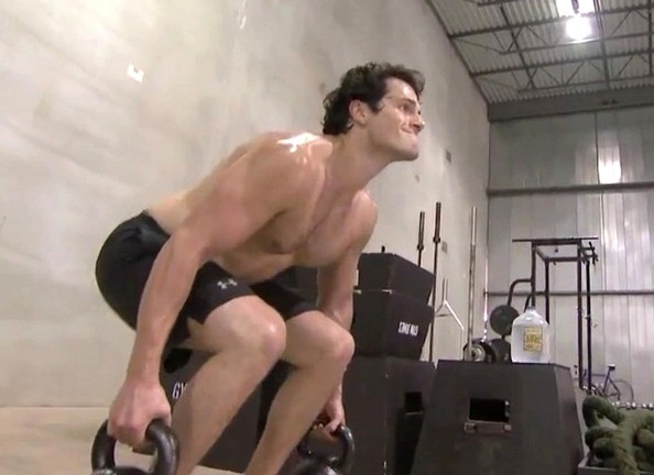 Superman Man Of Steel Actor Workout