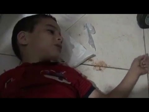 Syria Chemical Weapons Used Video