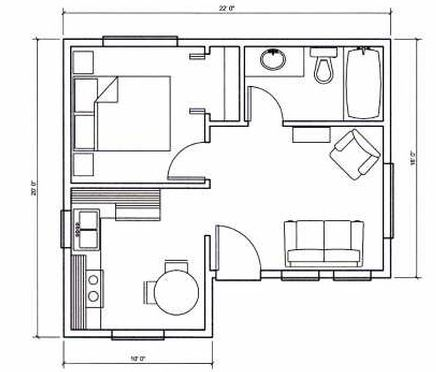 Tiny houses on wheels floor plans for Tiny castle house plans