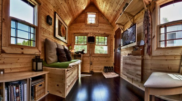 Tiny Houses On Wheels Interior