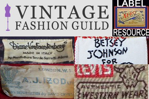 from Gibson dating vintage clothes labels