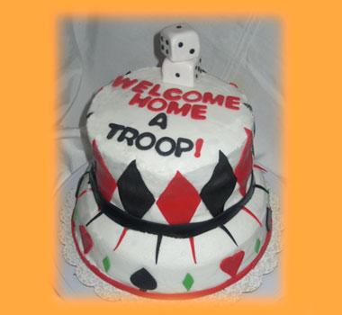 Welcome Home Cake Decorating Ideas