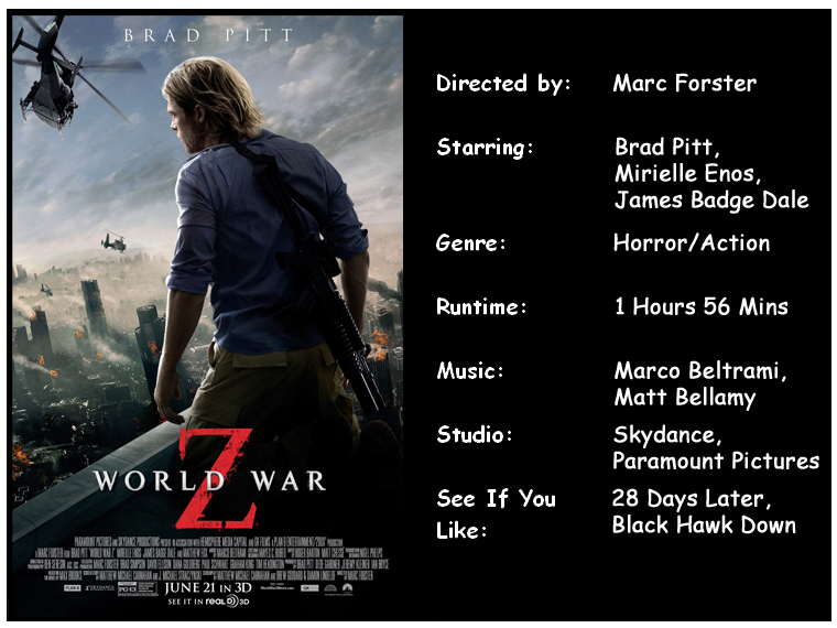 world war z compare and contrast Compare and contrast log in × scroll to top home a comparison of world war ii and the vietnam war and america's involvement in them pages 2 words 567 view full essay more essays like this: not sure what i'd do without @kibin - alfredo alvarez, student @ miami university.