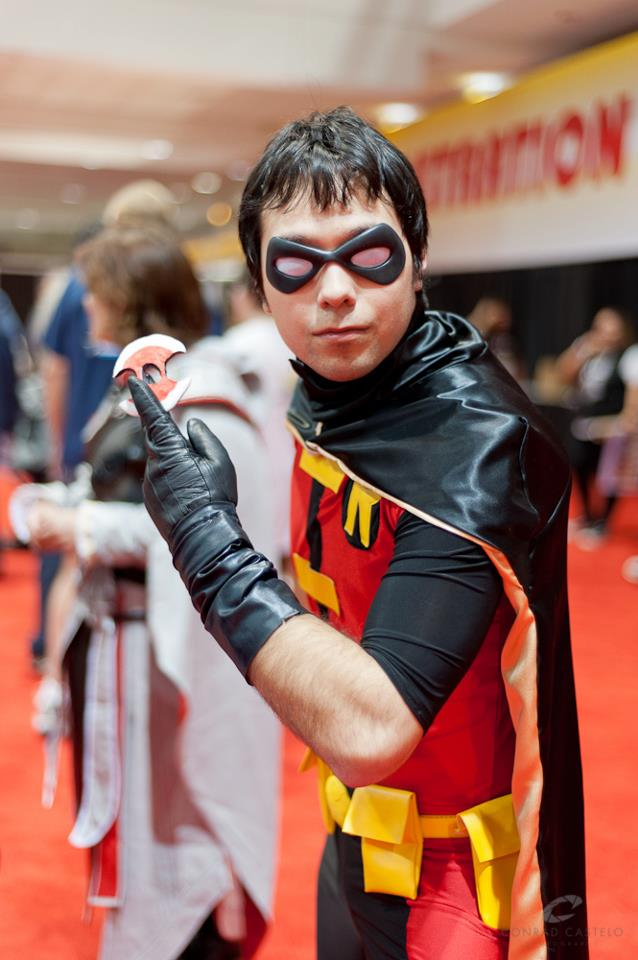 Young Justice Robin Without Mask